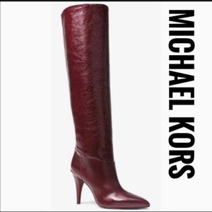 Michael Kors Rosalyn Over the Knee Leather Boot